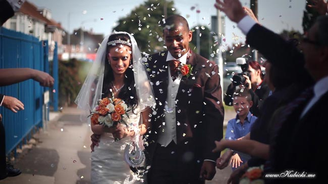 Wedding videographer West Midlands, Birmingham cinematography