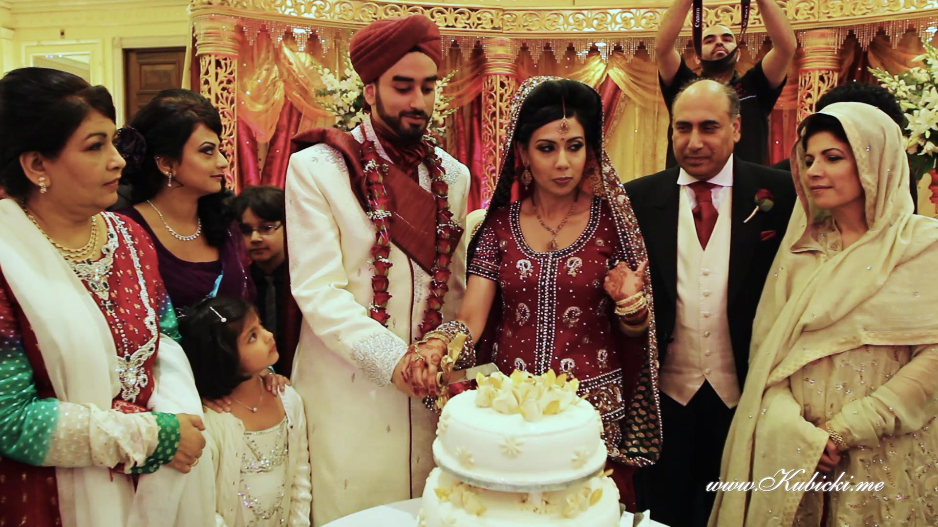 Snapshots From Nadia And Zubair Muslim Wedding Videography London