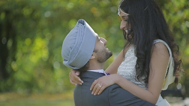 Wedding-cinematography-Nottingham,-Sikh-Punjabi-wedding-cinematographer