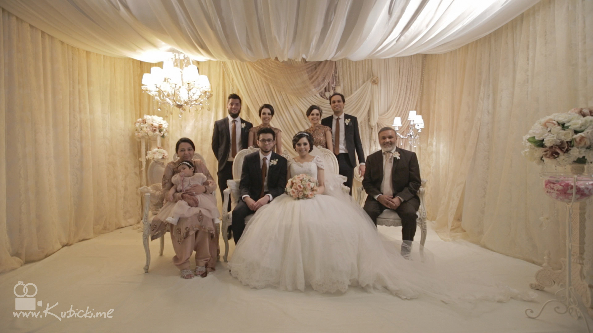 Dunkenhalgh hall wedding