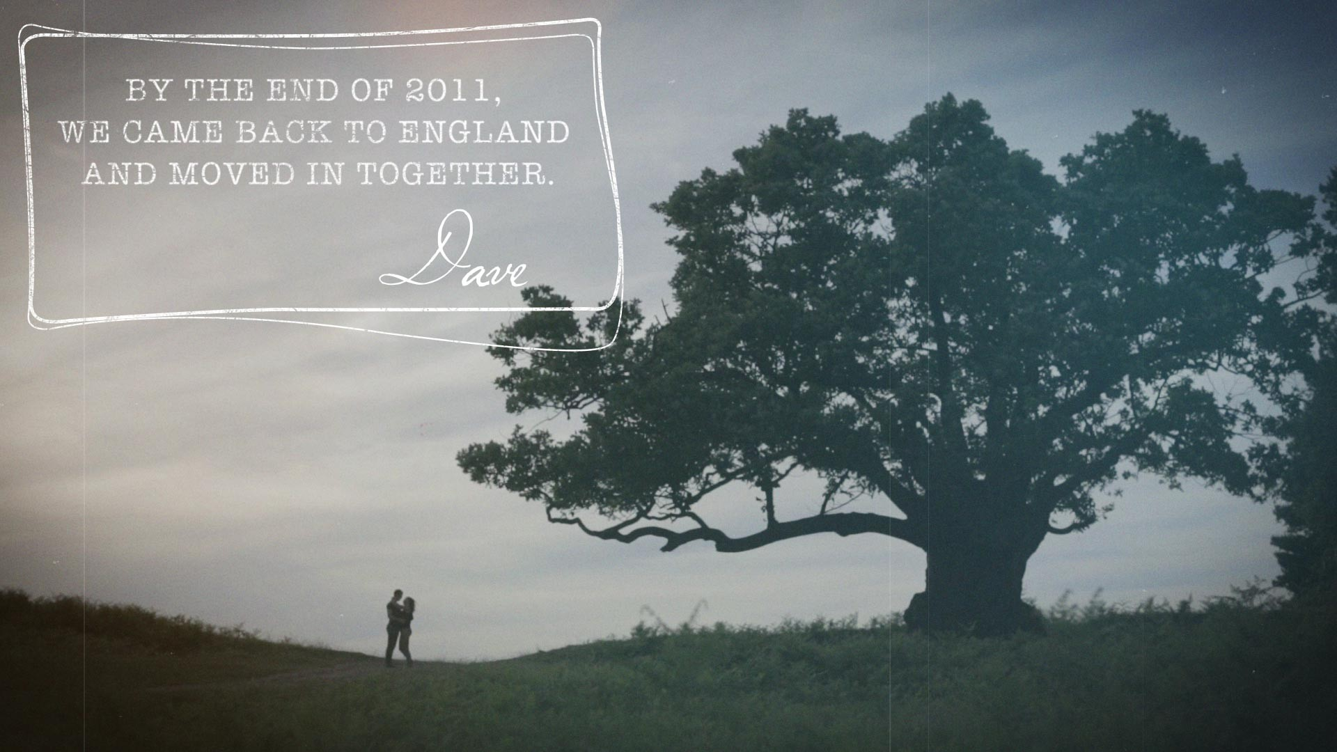 ENGAGEMENT FILM BRADGATE PARK IN LEICESTER