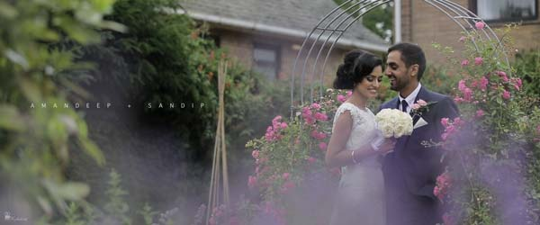 Brooksby Hall wedding cinematography