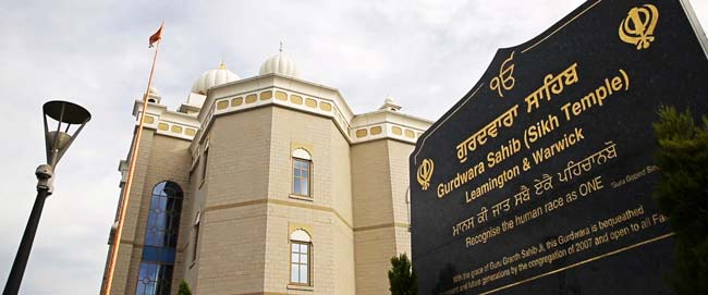 Gurdwara Sahib Leamington Spa wedding video