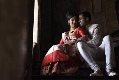 West Wycombe Estate wedding film, Bengali wedding cinematography